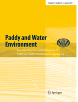JOURNAL 'PADDY AND WATER ENVIRONMENT'